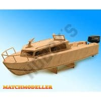 Match Modeller - Cabin Cruiser Matchstick Kit # MM24